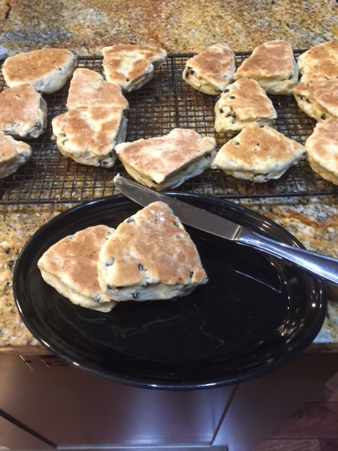 griddled scones